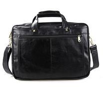 Polare Leather Men's Briefcase / Laptop Bag / Messenger,