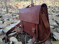 ScotchLeather Genuine Men's Leather Messenger Laptop