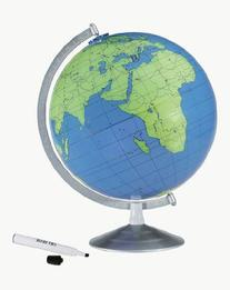 Replogle Geographer Dry Erase 12-inch Diam. Tabletop Globe