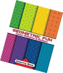 Geometric Fun Linear Patterns & Designs Coloring Book