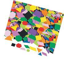 Fun Express Geometric Self-Adhesive Foam Shapes - 1000