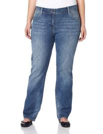 Lucky Brand Women's Plus-Size Georgia Straight Jean, Sandy