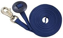 Tough 1 German Cord Cotton Lunge Line with Heavy Snap, Navy