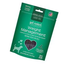 Get Naked Weight Management Dental Chew Sticks for Dogs,