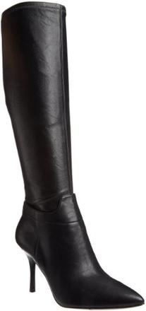 Nine West Women's Getta Boot,Black Synthetic,7.5 M US