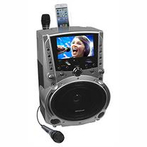 Karaoke USA GF757 50 Watt Bluetooth DVD CD+G MP3+G Karaoke
