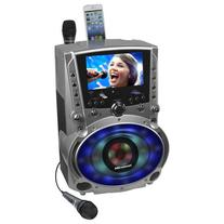 "Karaoke USA GF758 DVD/CDG/MP3G System with 7"" TFT Color"