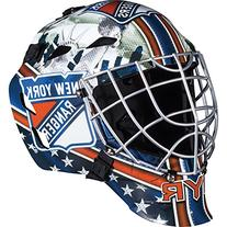 Franklin Sports GFM 1500 NHL New York Rangers Goalie Face