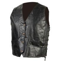 Diamond Plate GFVEMBPTXL Extra Large Grain Leather Biker