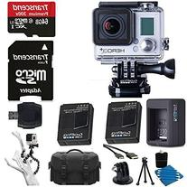 GGoPro HERO3+ Silver Edition Camera HD Camcorder + Extra