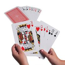 Giant Jumbo Deck of Big Playing Cards Fun Full Poker Game
