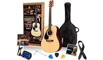 Yamaha Gigmaker Deluxe Acoustic Guitar Package with Gig Bag