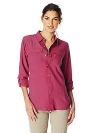 ExOfficio Women's Gill Long Sleeve Shirt, Mod, Small