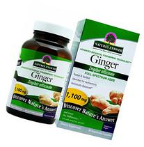 Nature's Answer Ginger Rhizome, 90-Count