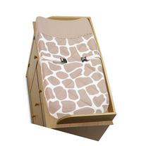 Giraffe Baby Changing Pad Cover by Sweet Jojo Designs