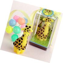 RedC Giraffe Cartoon Craft Candles