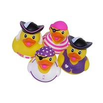 "Rhode Island Novelty 2"" Girly Pirate Rubber Duckies"