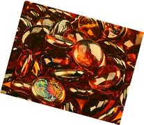 "1/2"" Fire Glass Beads for Indoor or Outdoor Fire Pits or"