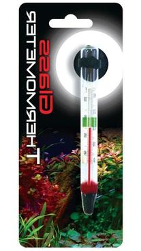 Glass Floating Thermometer 110 Degrees with suction Cup- 6