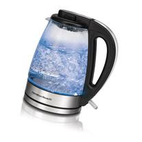 Hamilton Beach 1.7-Liter Glass Kettle, Black