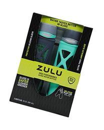 Zulu 20oz High Performance Glass Water Bottles
