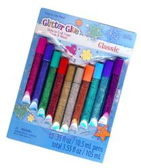 Sulyn Glitter Glue Pens - Classic - 10 Pack