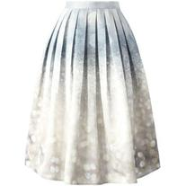 Chicwish Glorious Sparkles Print Midi Skirt