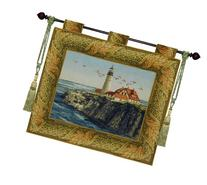 """Glory By the Sea Wall Hanging Tapestry 33""""x28"""