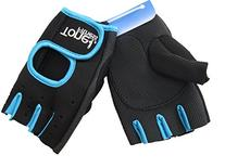 Tone Fitness Gloves Womens Size Large Black/blue