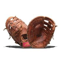 Shoeless Joe Gloves Fast Pitch Brown First Base Glove, Right