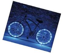 Glow Brightz Lights - Blue - Kids Sports by Bike Brightz