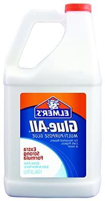 Elmer's E1326 Glue-All White Glue, Repositionable, 1-Gallon