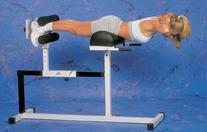 Yukon Glute, Hamstring, Back, and Abs Hyperextension Bench.