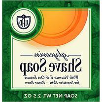 Van Der Hagen Glycerin Shave Soap, 2.5-Ounce Boxes