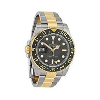 Rolex GMT-Master II Black Automatic stainless steel and 18kt