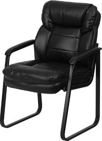 Flash Furniture GO-1156-BK-LEA-GG Black Leather Executive