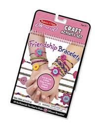 Melissa & Doug On the Go Friendship Bracelet Craft Set