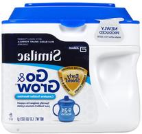 Go & Grow by Similac Milk-Based Toddler Drink, Powder, 1.38