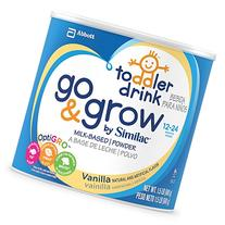 Similac Go & Grow Vanilla, Milk Based Toddler Drink with