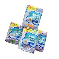 Angel Soft On the Go Non-Lotion Facial Tissue, 7X More