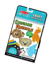 Melissa & Doug On the Go Origami Animals Craft Activity Set