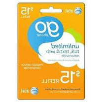 At&t Go Phone Refill Card $75