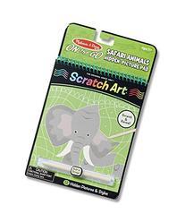 Melissa & Doug On the Go Scratch Art Hidden-Picture Pad -