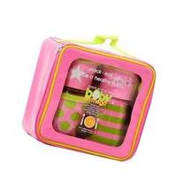 Baby on the Go Snack Set, Pink