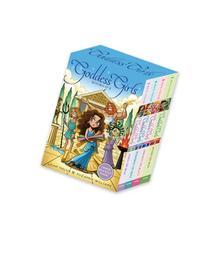 Goddess Girls Books #1-4 : Athena the Brain; Persephone the