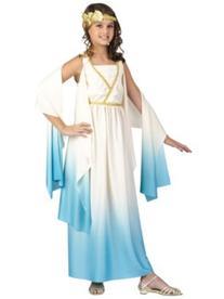 Goddess Greek Girl's Costume