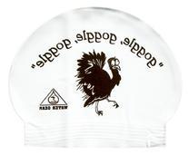 Water Gear Latex Swim Cap Turkey with Goggles