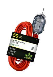 GoGreen Power GG-36750 16/3 50' Portable Hand Lamp