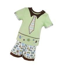 Stephan Baby Going Places Infant Boy Top and Diaper Cover,