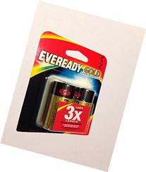 6 Pack Eveready Gold A93BP-2 C Alkaline Battery 2 per